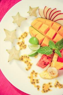 Fructe la micul dejun