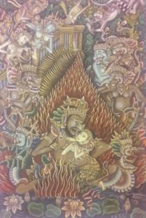 Anak Agung Gede Meregeg - Sita's Ordeal by Fire