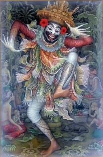 I Nyoman Meja - Jauk Mask Dance