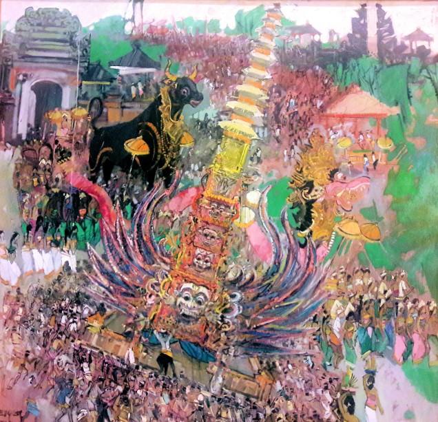 Raden Roedyat Martadiradja - Cremation