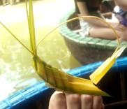 Gânganie din frunză de bambus