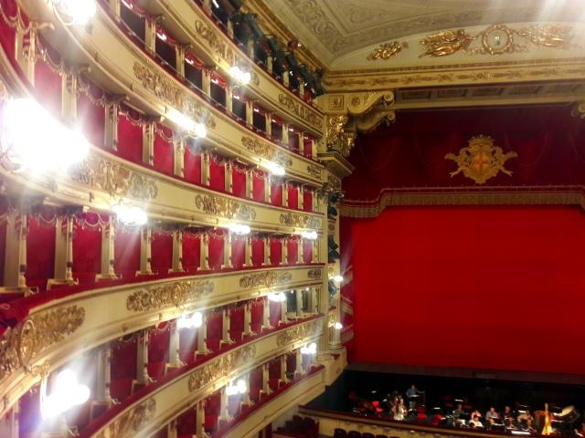la scala theatre milan