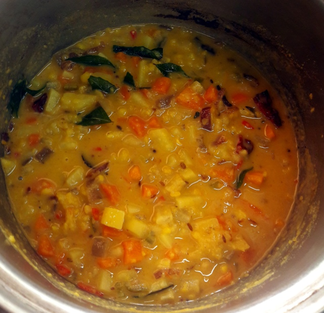 kampung kuala lumpur malaezia lazat cooking school dhall curry