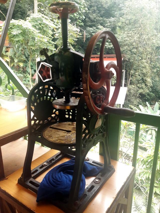 kampung kuala lumpur malaezia lazat cooking school ice shaving machine