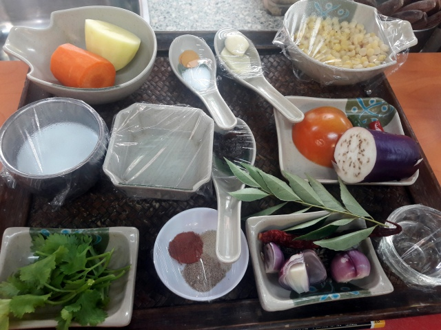 kampung kuala lumpur malaezia lazat cooking school dhall curry ingredients