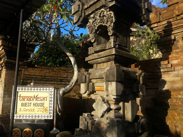 taman mesari guesthouse ubud bali accommodation