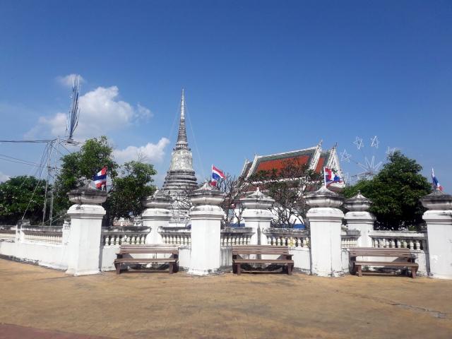 thailand temple phra samut chedi fair samut prakan