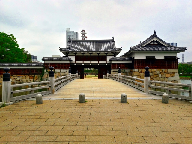 hiroshima castle japan ninomaru