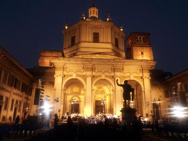 milano italia basilica di san lorenzo