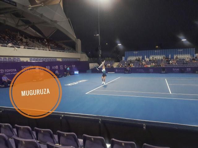 garbine muguruza thailand open true arena hua hin tennis