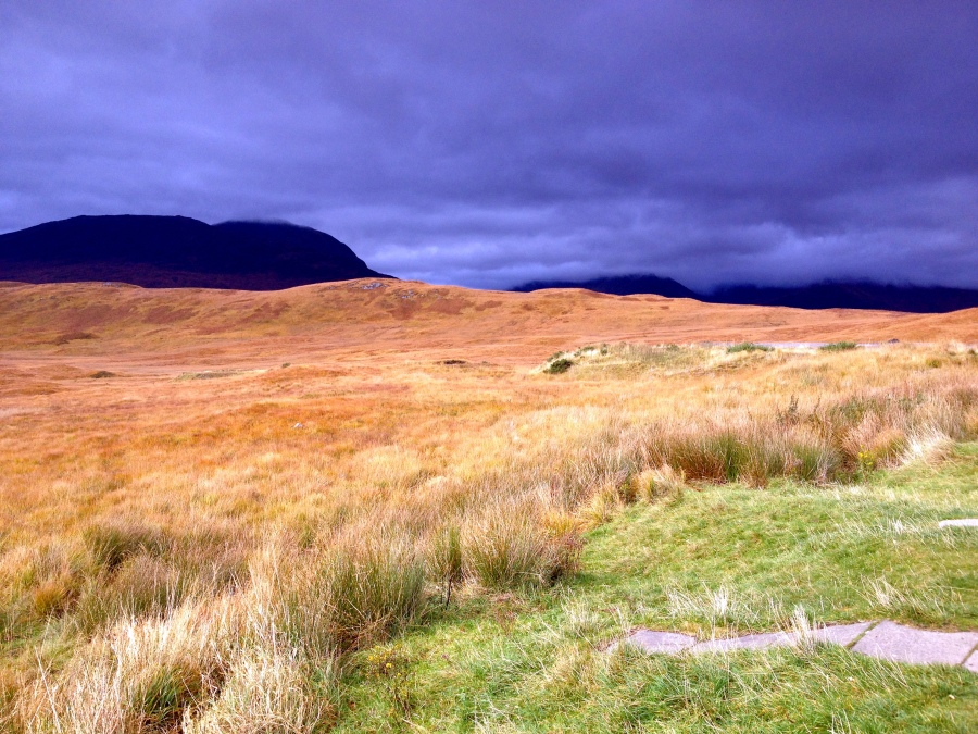 scotlanad highlands storm autumn